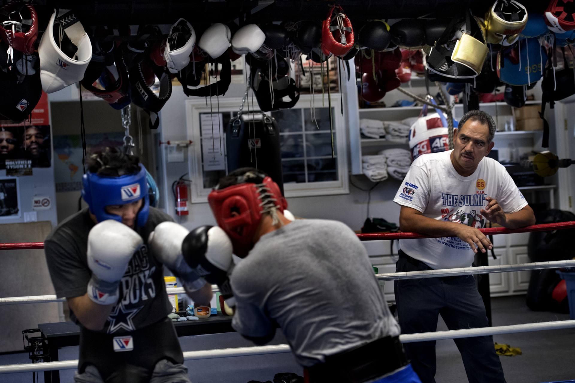Abel Sanchez Training Camp. GGG, Roman Gonzalez and others