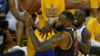 The NBA Finals between the Cleveland Cavilers and the Golden State Warriors on June 7, 2015, in Oakland, Ca. (Photo by Jed Jacobsohn/The Players Tribune)