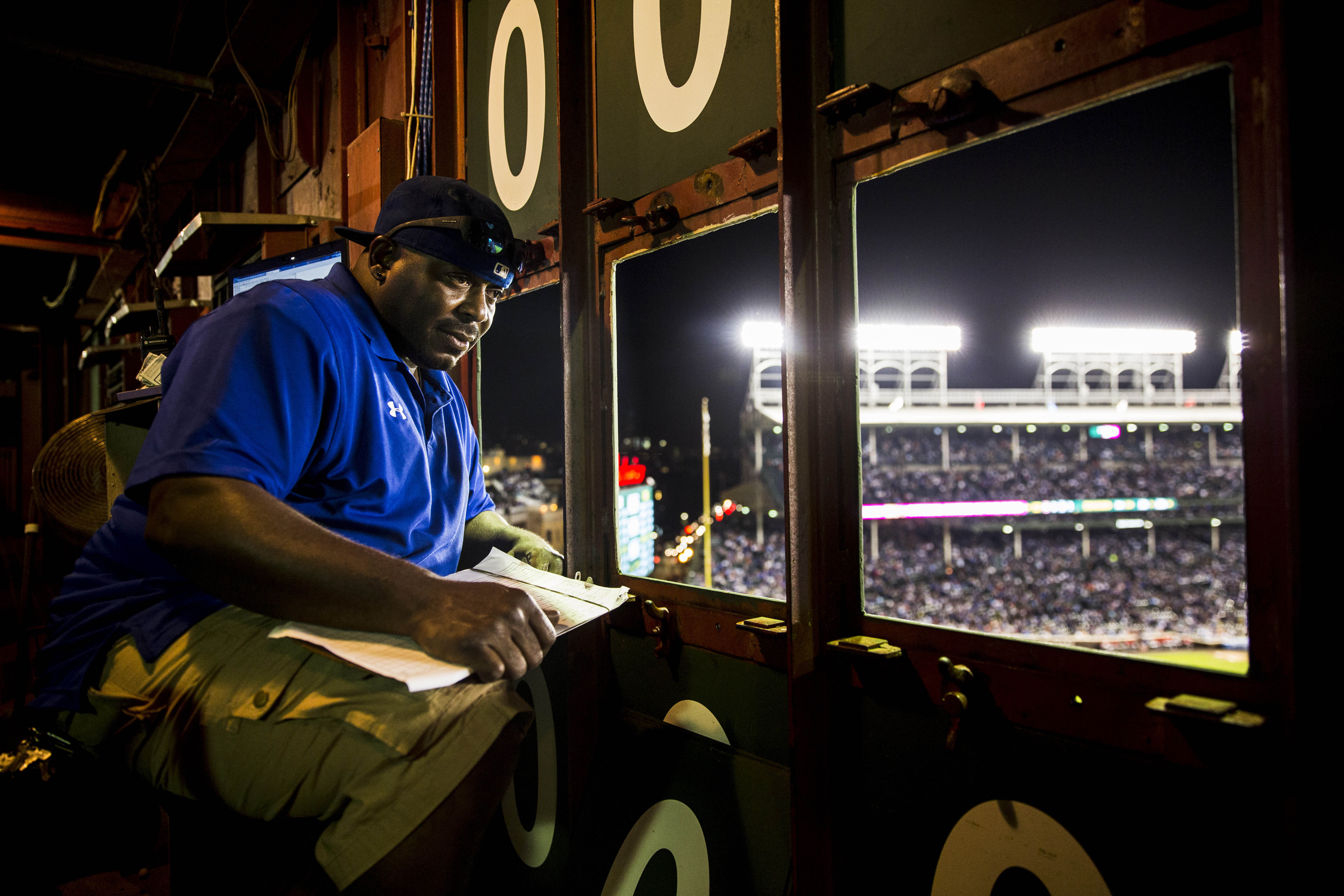From Where I See It, Wrigley Field on September 21, 2016 in Chicago, Illinois. (Photo by Taylor Baucom/The Players' Tribune)