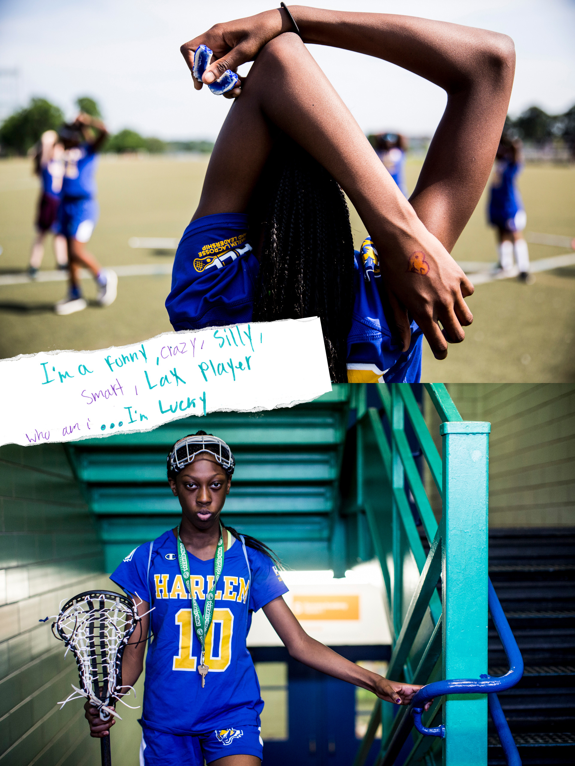 Harlem. Lacrosse. Search it Up
