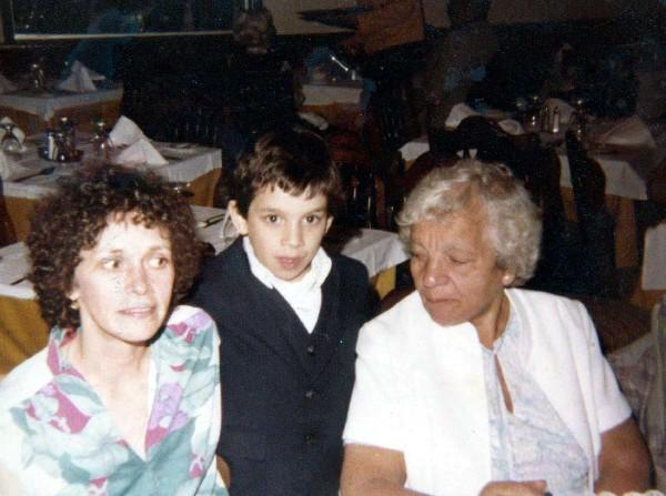 mom,me, and nanny